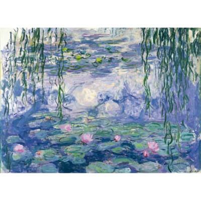 Puzzle-Michele-Wilson-A104-250 Puzzle aus handgefertigten Holzteilen - Claude Monet: Wasserlilien