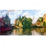 Puzzle-Michele-Wilson-A121-150 Holzpuzzle - Claude Monet - Zaandam, Canal