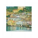 Puzzle-Michele-Wilson-A197-750 Puzzle aus handgefertigten Holzteilen - Gustav Klimt: Malcesine am Gardasee