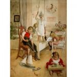 Puzzle-Michele-Wilson-A209-250 Puzzle aus handgefertigten Holzteilen - Larsson: Weihnachten