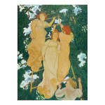 Puzzle-Michele-Wilson-A235-250 Puzzle aus handgefertigten Holzteilen - Maurice Denis: Die Leiter in den Blättern