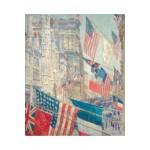 Puzzle-Michele-Wilson-A237-350 Puzzle aus handgefertigten Holzteilen - Childe Hassam: Allies Day May 1917
