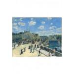 Puzzle-Michele-Wilson-A285-900 Puzzle aus handgefertigten Holzteilen - Pierre-Auguste Renoir: Le Pont Neuf