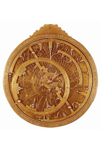 Puzzle-Michele-Wilson-A301-80 Puzzle aus handgefertigten Holzteilen - Astrolabium aus dem 16. Jahrhundert