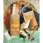 Puzzle-Michele-Wilson-A324-150 Puzzle aus handgefertigten Holzteilen - Juan Gris: Eine Flasche Banyuls