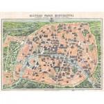 Puzzle-Michele-Wilson-A329-500 Puzzle aus handgefertigten Holzteilen - Stadtplan von Paris