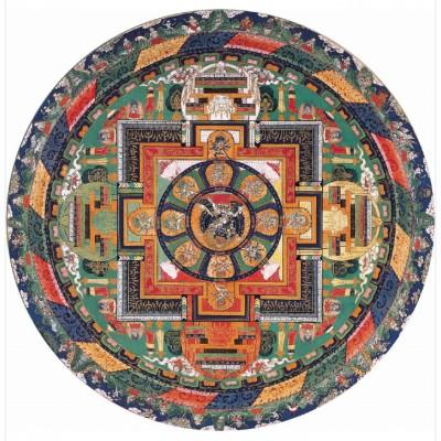 Puzzle-Michele-Wilson-A336-150 Puzzle aus handgefertigten Holzteilen - Vajrabhairava Mandala aus Tibet