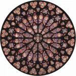 Puzzle-Michele-Wilson-A342-80 Puzzle aus handgefertigten Holzteilen - Rosette Notre Dame