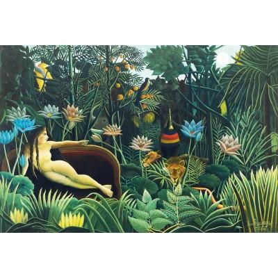 Puzzle-Michele-Wilson-A455-250 Puzzle aus handgefertigten Holzteilen - Douanier Rousseau
