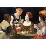 Puzzle-Michele-Wilson-A467-150 Holzpuzzle - Georges de La Tour - Le Tricheur à l'as de carreau
