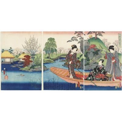 Puzzle-Michele-Wilson-A479-150 Puzzle aus handgefertigten Holzteilen - Utagawa Kunisada