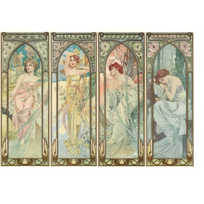 Puzzle  Puzzle-Michele-Wilson-A484-350 Alfons Mucha