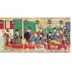 Puzzle-Michele-Wilson-A489-500 Puzzle aus handgefertigten Holzteilen - Utagawa - Shin Yoshiwara