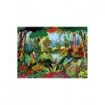 Puzzle-Michele-Wilson-A491-650 Puzzle aus handgefertigten Holzteilen - Alain Thomas: Jungle