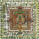 Puzzle-Michele-Wilson-A513-500 Puzzle aus handgefertigten Holzteilen - Tibetische Kunst: Medizin-Mandala