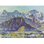 Puzzle-Michele-Wilson-A536-500 Holzpuzzle - Ferdinand Hodler - Der Eiger