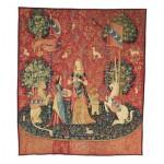 Puzzle-Michele-Wilson-A558-150 Holzpuzzle - Die Dame mit dem Einhorn
