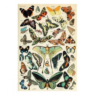 Puzzle-Michele-Wilson-A567-350 Puzzle aus handgefertigten Holzteilen - Die Schmetterlinge