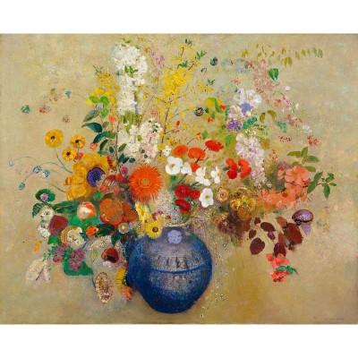 Puzzle-Michele-Wilson-A586-500 Puzzle aus handgefertigten Holzteilen - Odilon Redon - Blumen