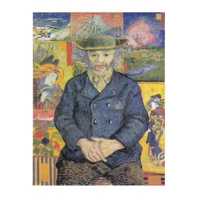 Puzzle Puzzle-Michele-Wilson-A593-350 Van Gogh Vincent - Bildnis Père Tanguy, 1887