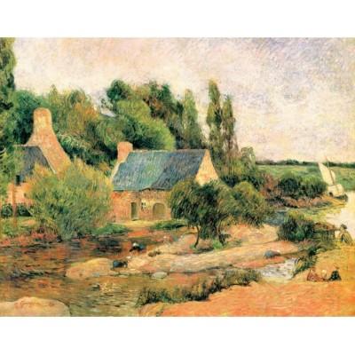 Puzzle  Puzzle-Michele-Wilson-A634-250 Gauguin Paul - Die Wäscherinnen von Pont-Aven, 1886
