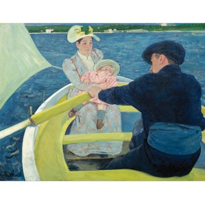 Puzzle Puzzle-Michele-Wilson-A635-250 Mary Cassatt - Die Bootsfahrt