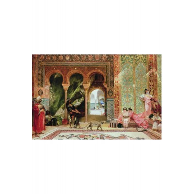Puzzle-Michele-Wilson-A645-900 Puzzle aus handgefertigten Holzteilen - Benjamin Constant