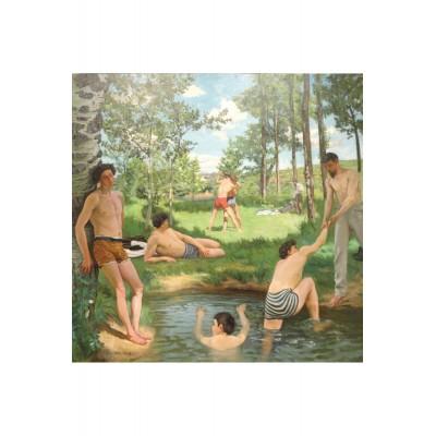 Puzzle-Michele-Wilson-A659-150 Puzzle aus handgefertigten Holzteilen - Frédéric Bazille