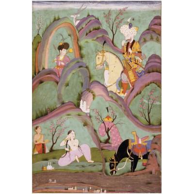 Puzzle-Michele-Wilson-A671-650 Puzzle aus handgefertigten Holzteilen - Persische Kunst