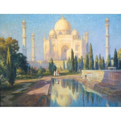 Puzzle-Michele-Wilson-A700-80 Puzzle aus handgefertigten Holzteilen - Colin Campbell Cooper - Taj Mahal