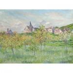 Puzzle-Michele-Wilson-A754-250 Puzzle aus handgefertigten Holzteilen - Claude Monet - Frühling in Giverny