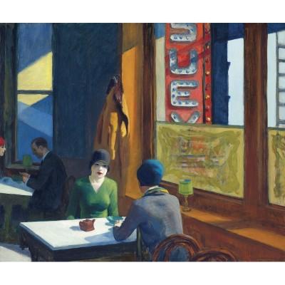 Puzzle-Michele-Wilson-A791-350 Puzzle aus handgefertigten Holzteilen - Edward Hopper - Chop Suey