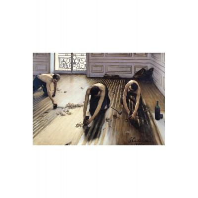 Puzzle-Michele-Wilson-A817-150 Puzzle aus handgefertigten Holzteilen - Gustave Caillebotte: Die Parkettabzieher