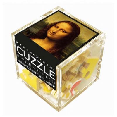 Puzzle-Michele-Wilson-Cuzzle-Z103 Holzpuzzle - Würfel - Leonardo da Vinci: Mona Lisa