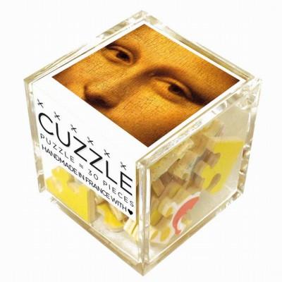Puzzle-Michele-Wilson-Cuzzle-Z105 Holzpuzzle - Würfel - Leonardo da Vinci: Mysteriöse Mona Lisa