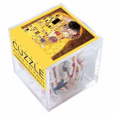 Puzzle-Michele-Wilson-Cuzzle-Z108 Holzpuzzle - Klimt: Der Kuss