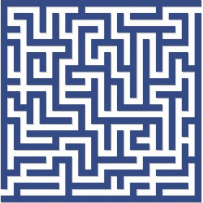 Puzzle-Michele-Wilson-Cuzzle-Z27 Puzzle aus handgefertigten Holzteilen - Labyrinth