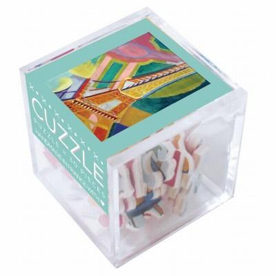 Puzzle-Michele-Wilson-Cuzzle-Z276 Holzpuzzle - Robert Delaunay: Eiffelturm