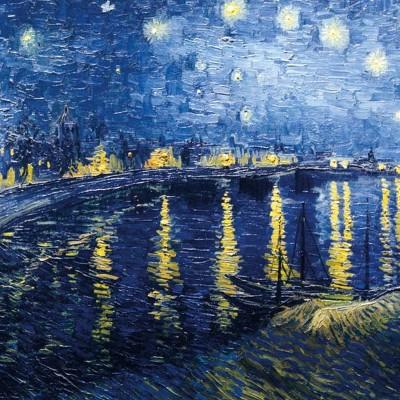 Puzzle-Michele-Wilson-Cuzzle-Z53 Puzzle aus handgefertigten Holzteilen - Van Gogh