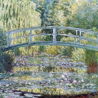 Puzzle-Michele-Wilson-Cuzzle-Z54 Puzzle aus handgefertigten Holzteilen - Claude Monet