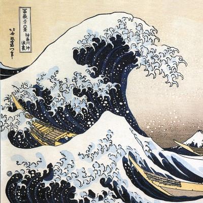 Puzzle-Michele-Wilson-Cuzzle-Z943 Puzzle aus handgefertigten Holzteilen - Hokusai: Die Welle
