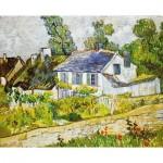 Puzzle-Michele-Wilson-H218-300 Puzzle aus handgefertigten Holzteilen - Vincent Van Gogh - Auvers