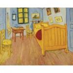 Puzzle-Michele-Wilson-K040-24 Puzzle aus handgefertigten Holzteilen - Vincent Van Gogh - Das Zimmer in Arles
