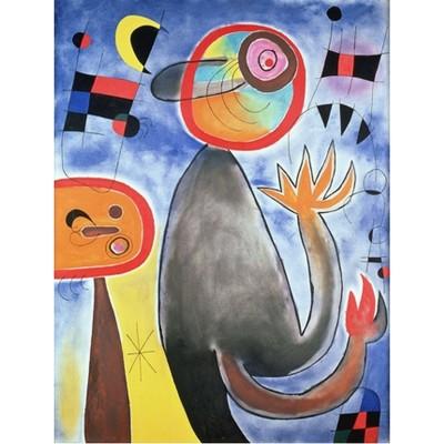 Puzzle-Michele-Wilson-K152-12 Puzzle aus handgefertigten Holzteilen - Joan Miro