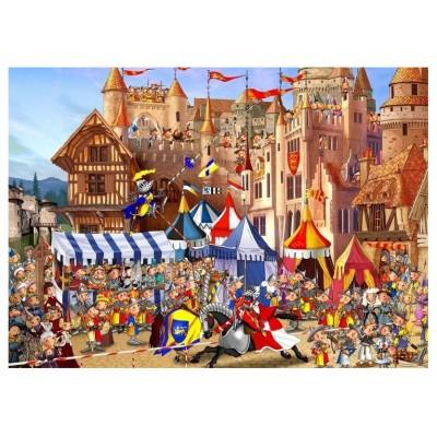 Puzzle-Michele-Wilson-K592-100 Puzzle aus handgefertigten Holzteilen - François Ruyer - Turnier