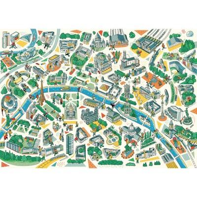 Puzzle-Michele-Wilson-K685-100 Holzpuzzle - Paris