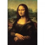 Puzzle-Michele-Wilson-K739-50 Puzzle aus handgefertigten Holzteilen - Leonardo da Vinci - Mona Lisa