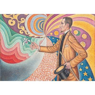 Puzzle-Michele-Wilson-K745-24 Puzzle aus handgefertigten Holzteilen - Paul Signac - Porträt von Félix Fénéon