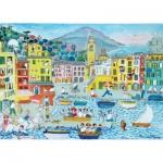 Puzzle-Michele-Wilson-K773-50 Puzzle aus handgefertigten Holzteilen - Camogli