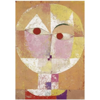 Puzzle-Michele-Wilson-K795-12 Puzzle aus handgefertigten Holzteilen - Paul Klee - Senecio